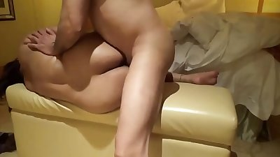 Nri bhabi hot action with hindi audio